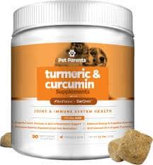 Pet Parents Turmeric & Curcumin Chicken Flavored Dog Supplement