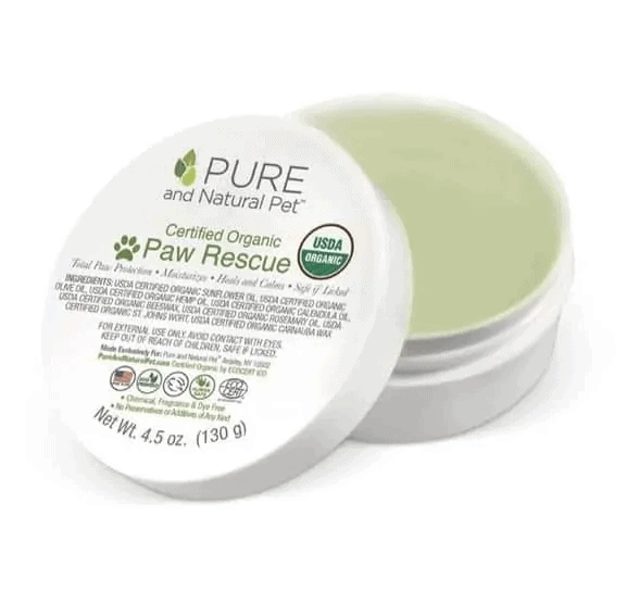 pure and natural paw balm