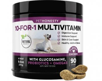 dog 10-in-1 multivitamin